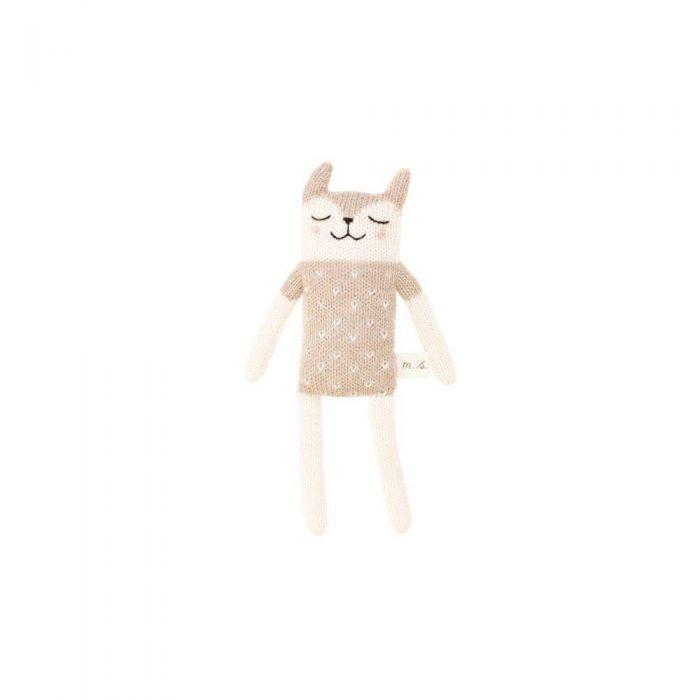 Doudou faon en laine d'alpaga de la marque Main Sauvage